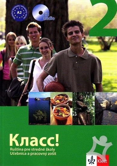 kolektiv autorů: Klass! 2 – učebnica s pracovným zošitom 2CD - balíček
