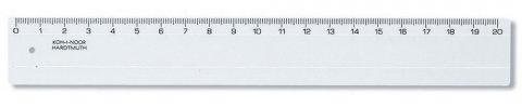 neuveden: Koh-i-noor pravítko 20cm transparentní