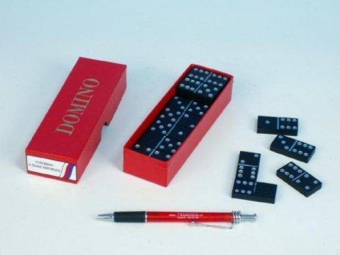 neuveden: Domino - společenská hra / 28 ks v krabičce