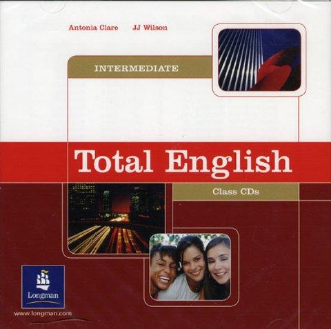 Clare Antonia, Wilson J.J.: Total English Intermediate Class CDs