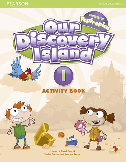 Erocak Linnette: Our Discovery Island 1 Activity Book w/ CD-ROM Pack