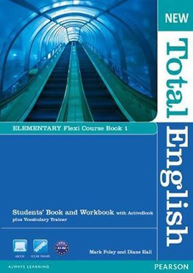 Foley Mark: New Total English Elementary Flexi Coursebook 1 Pack