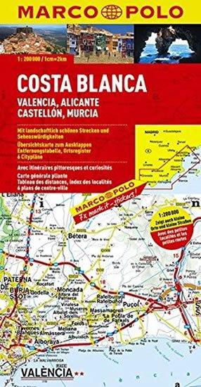 neuveden: Španělsko - Costa Blanca/mapa