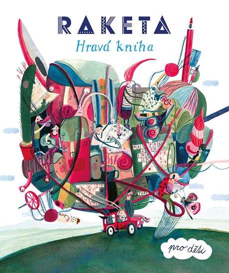 neuveden: Raketa - Hravá kniha pro děti