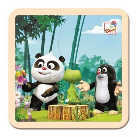 neuveden: Krtek a Panda: V lese/puzzle, 4 dílky