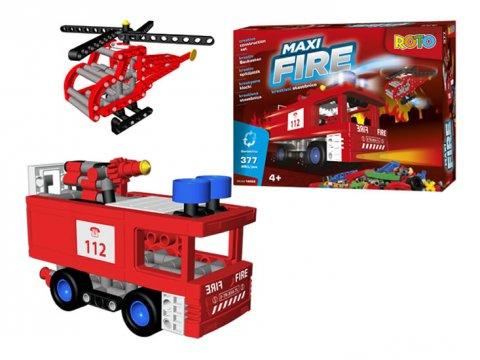neuveden: ROTO - Maxi Fire/kreativní stavebnice (377 dílků)