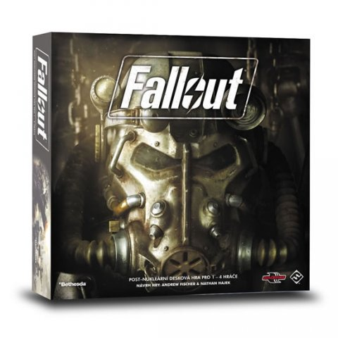 neuveden: Fallout - desková hra