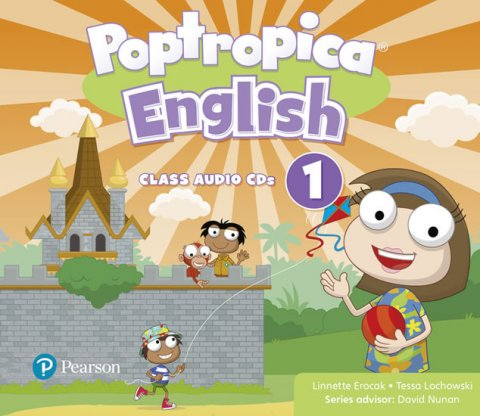 Erocak Linnette: Poptropica English 1 Audio CD