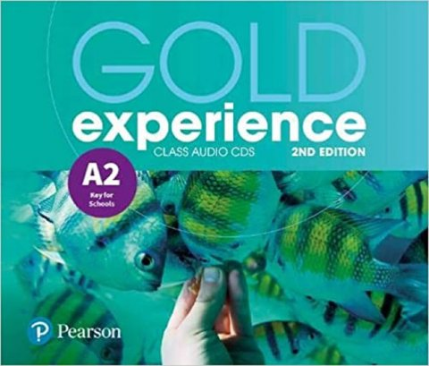 Alevizos Kathryn, Gaynor Suzanne: Gold Experience 2nd Edition A2 Class CDs