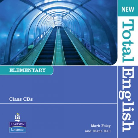 Hall Diane: New Total English Elementary Class Audio CD