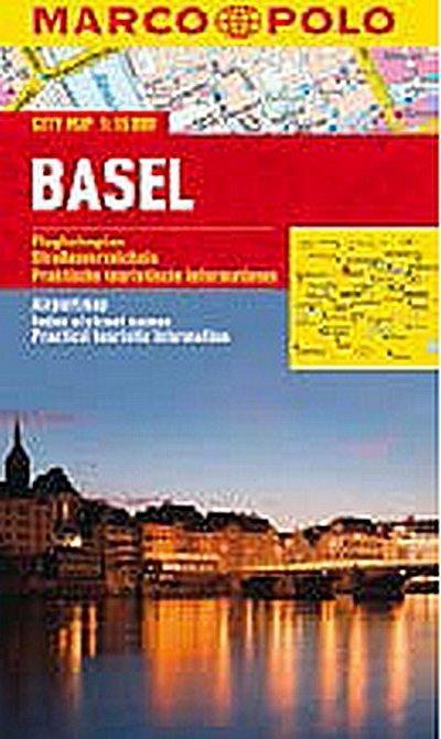 neuveden: Basel - City Map 1:15000