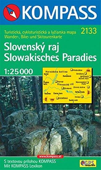 neuveden: Slovenský Slovenský ráj 2133 NKOM 1:25T
