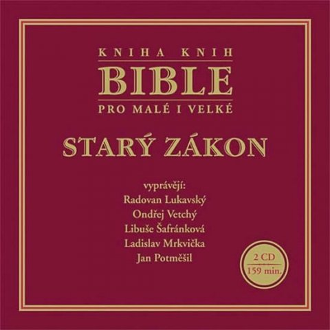 neuveden: Bible pro malé i velké - Starý zákon - 2CD