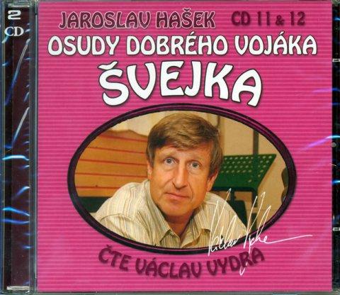 Hašek Jaroslav: Osudy dobrého vojáka Švejka 11-12 - 2CD