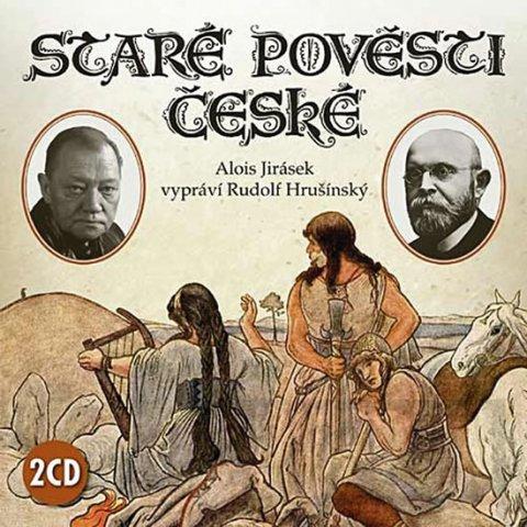 Jirásek Alois: Staré pověsti české - 2CD (čte Rudolf Hrušínský)