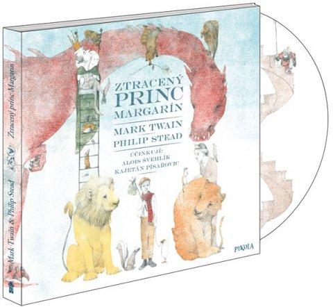 Twain Mark, Stead Philip: Ztracený princ Margarín - audioknihovna