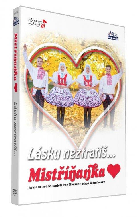 neuveden: Mistříňanka - Lásku neztratíš - DVD