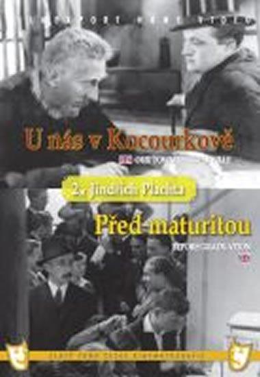 neuveden: U nás v Kocourkově/Před maturitou (2 filmy na 1 disku) - DVD box