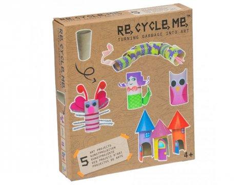 neuveden: Re-cycle-me set pro holky - Role od toaletního papíru