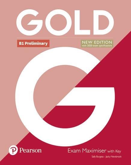 Edwards Lynda, Newbrook Jacky: Gold B1 Preliminary 2018 Exam Maximiser w/ key