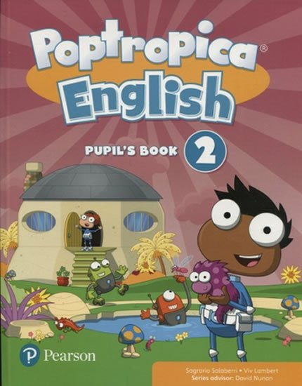 Salaberri Sagrario: Poptropica English Level 2 Pupil´s Book + PEP kód elektronicky