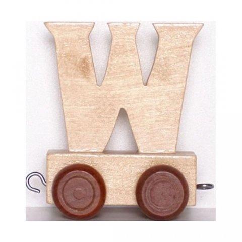 neuveden: Vagónek W - hnědá kolečka