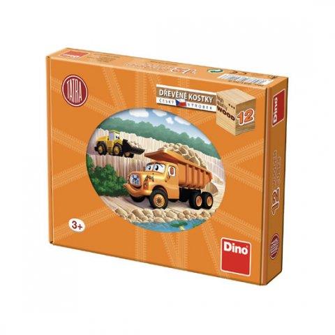 neuveden: Tatra: dřevěné kostky 12 ks