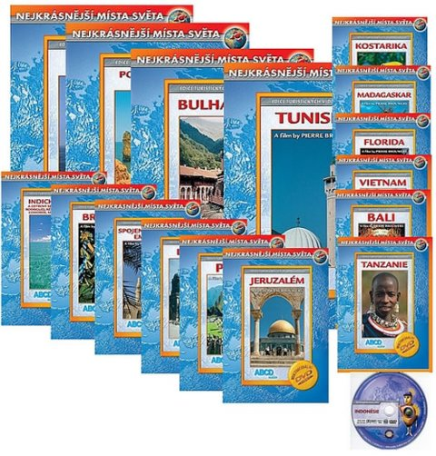 neuveden: Nejkrásnější místa světa 4 - 20 DVD