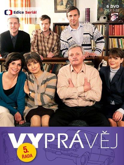 neuveden: Vyprávěj 5. řada (reedice) - 6 DVD