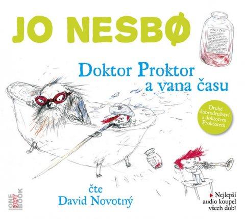 Nesbo Jo: Doktor Proktor a vana času - CD (Čte David Novotný)
