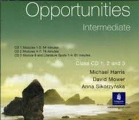 Harris Michael: Opportunities Intermediate Class CD 1-3 Global