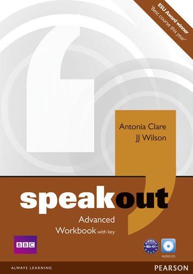 Clare Antonia: Speakout Advanced Workbook w/ Audio CD Pack (w/ key)