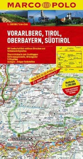 neuveden: Rakousko 3 / mapa