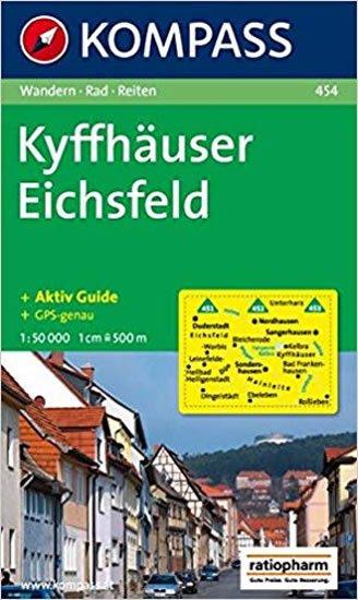 neuveden: Kyffhäuser Eichsfeld 454 / 1:50T NKOM
