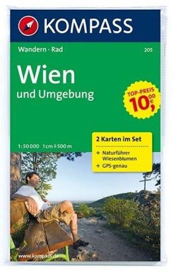 neuveden: Wien und Umgebung 205 / 1:50T NKOM