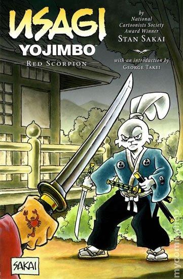 Sakai Stan: Usagi Yojimbo - Rudý škorpion
