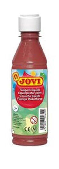 neuveden: JOVI temperová barva 250ml v lahvi hnědá