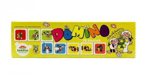 neuveden: Pojď s námi do pohádky - Domino 28 ks