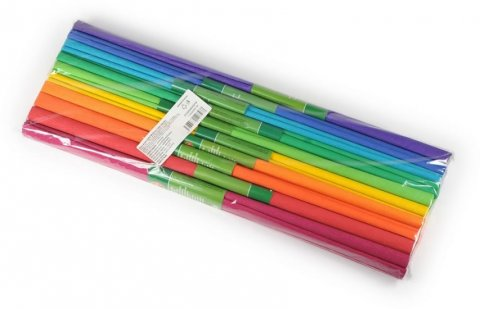 neuveden: Koh-i-noor papír krepový 10 ks MIX odstínů v sadě