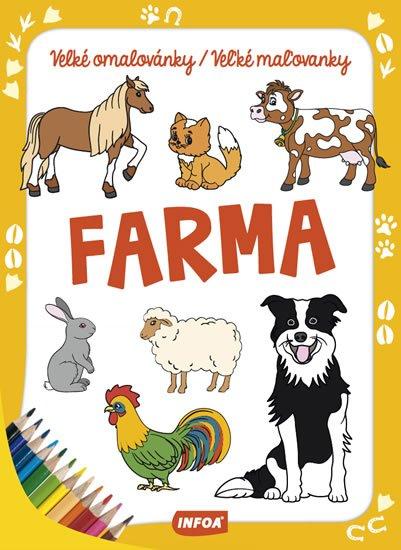 neuveden: Farma - Velké omalovánky/Veľké maľovanky