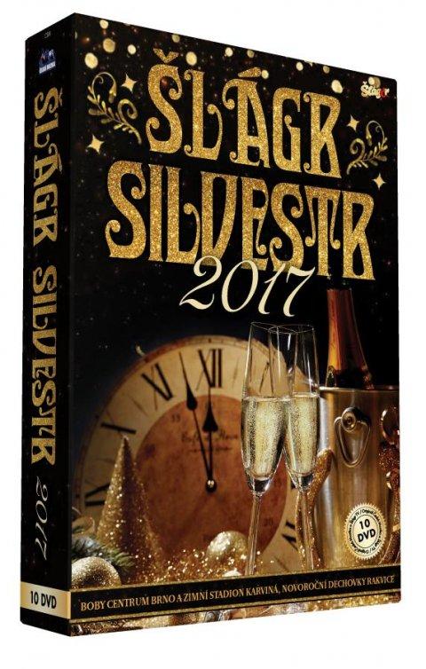 neuveden: Silvestr 2017 - 10 DVD