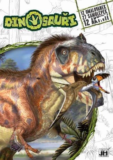 neuveden: Dinosauři - Cvičebnice A4+