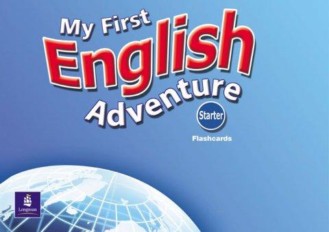 Musiol Mady: My First English Adventure Starter Flashcards