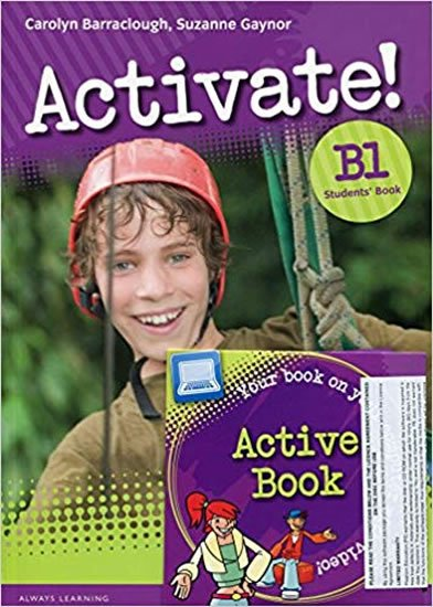 Barraclough Carolyn: Activate! B1 Students´ Book w/ Active Book Pack