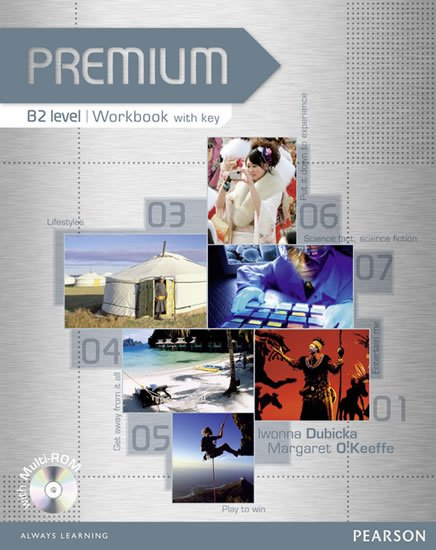 Dubicka Iwona: Premium B2 Workbook w/ Multi-Rom Pack (w/ key)