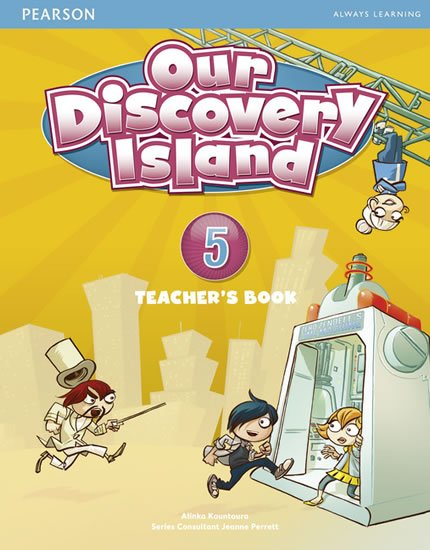 Kountoura Alinka: Our Discovery Island 5 Teacher´s Book plus PIN code