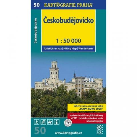 neuveden: 1: 50T (50)-Českobudějovicko (turistická mapa)