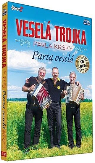 neuveden: Veselá trojka – Parta veselá - CD+DVD