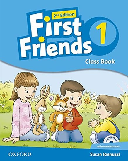 Iannuzzi Susan: First Friends 1 Course Book with Multi-ROM (2nd)