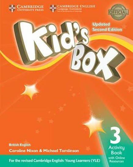 Nixon Caroline: Kid´s Box 3 Activity Book with Online Resources British English,Updated 2nd